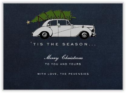 Rolls Royce Christmas - Paperless Post