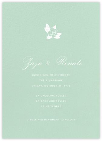 Mint - Tall - Paperless Post - Wedding invitations