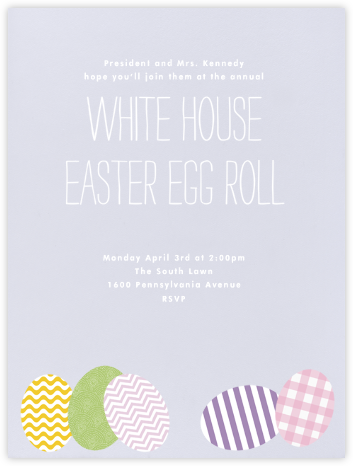 Easter Eggs - Paperless Post - Invitations