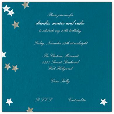 Silver Stars - Paperless Post -