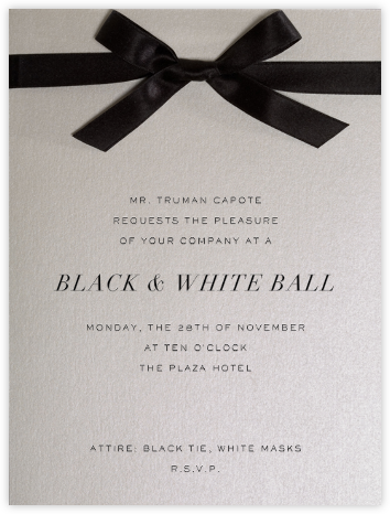 Avenue Montaigne - Paperless Post - Viewing Party Invitations