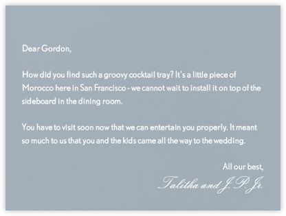 Pacific - Paperless Post - Wedding thank you notes