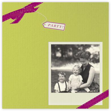 Party Favor - Pistachio - Paperless Post