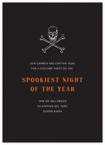 Pitch - Paperless Post - Halloween invitations
