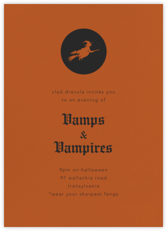 Pumpkin - Paperless Post - Halloween invitations