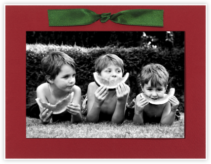 Red Green Bow - Paperless Post -