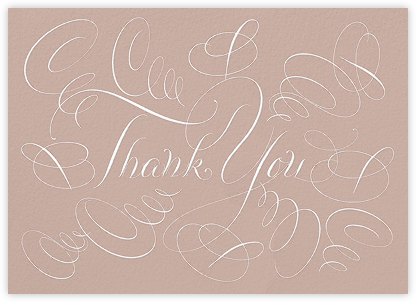 Thank You - Rose - Bernard Maisner - Online Thank You Cards
