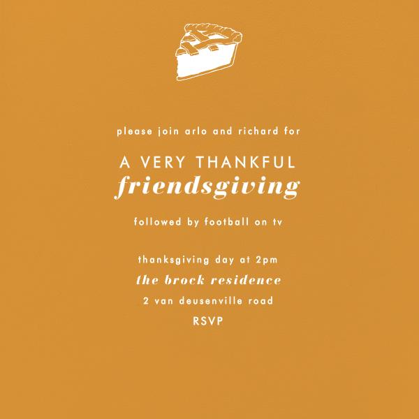 Kumquat (Square) - Paperless Post - Thanksgiving invitations