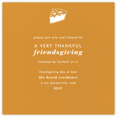 Kumquat (Square) - Paperless Post - Thanksgiving invitations