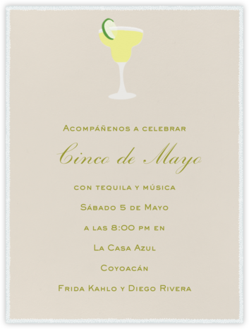 Margarita - Paperless Post - Cinco de Mayo Invites