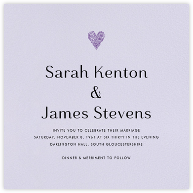 Taro (Invitation) - Paperless Post - Wedding invitations
