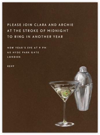 Martini and Shaker - Paperless Post