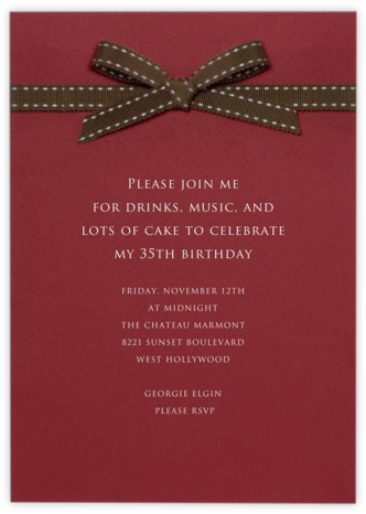 Stirrup - Paperless Post - Adult Birthday Invitations