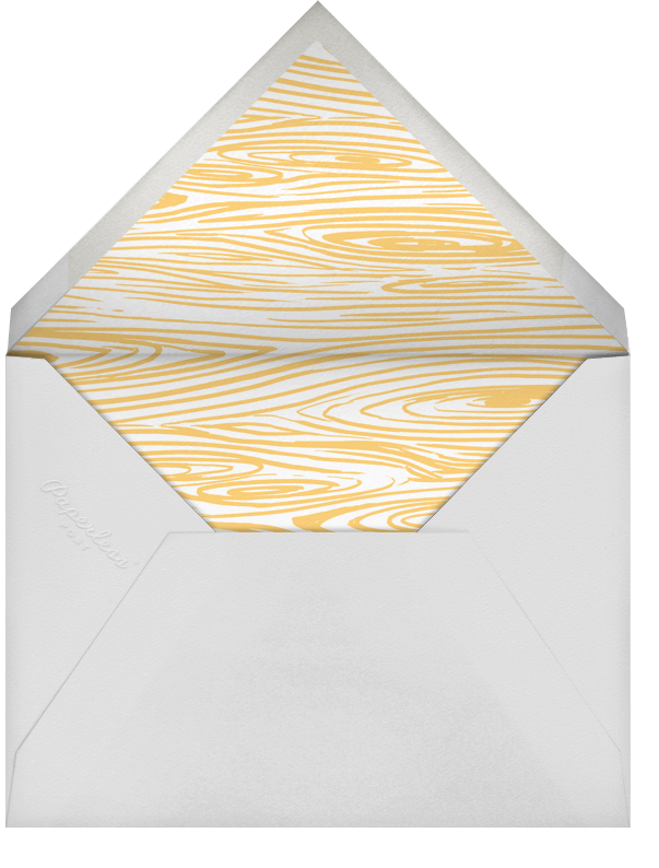 Deckle - Pistachio Square - Paperless Post - Summer entertaining - envelope back