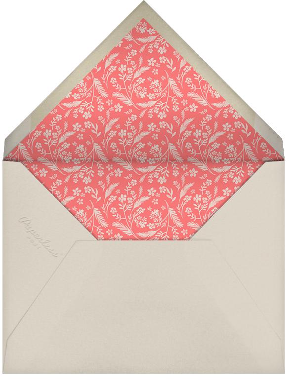 Chic Florette (Photo Save the Date) - Crate & Barrel - Envelope