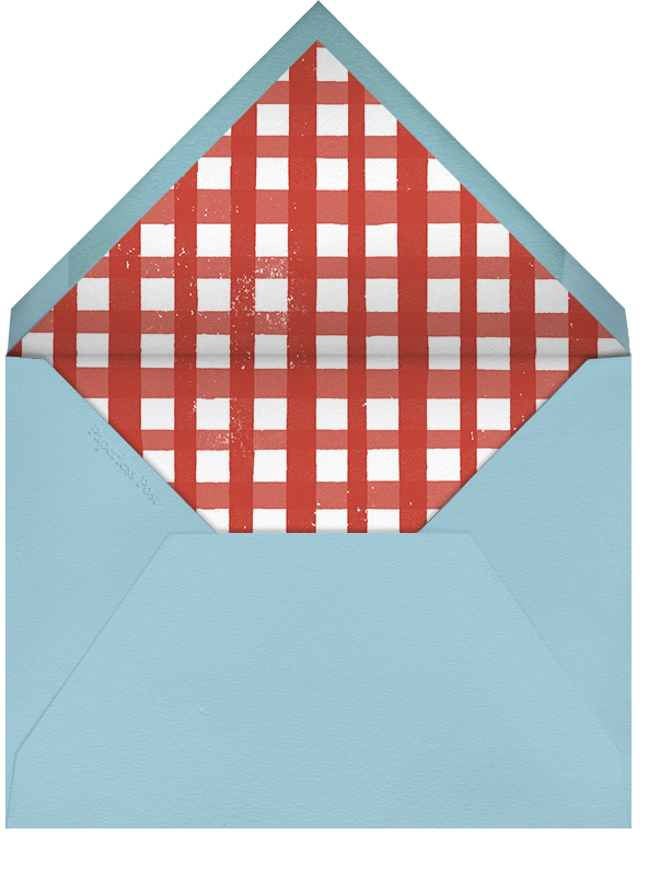 Crawfish - Paperless Post - Beach party - envelope back