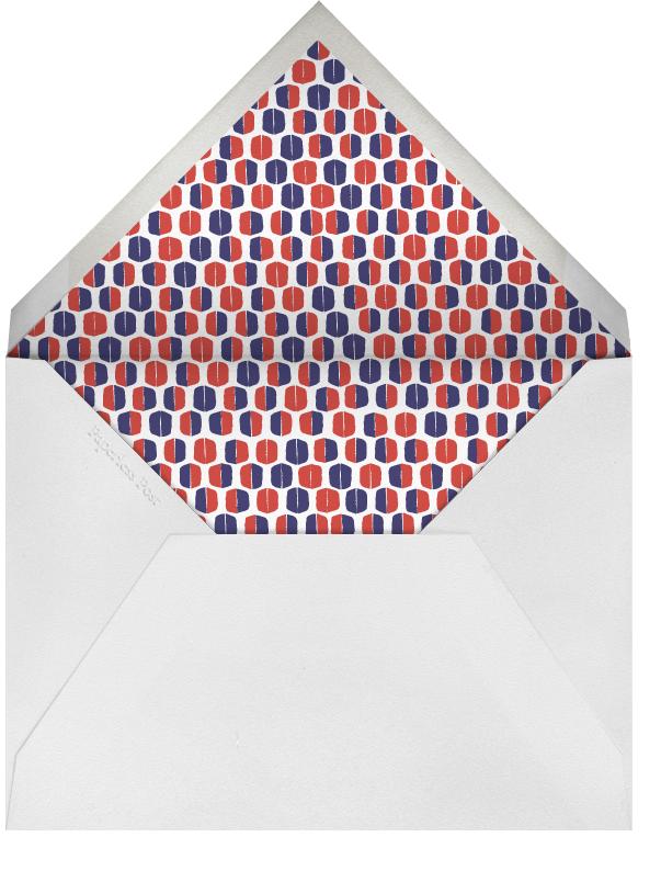 Paul Revere - Ocean - Mr. Boddington's Studio - Summer entertaining - envelope back