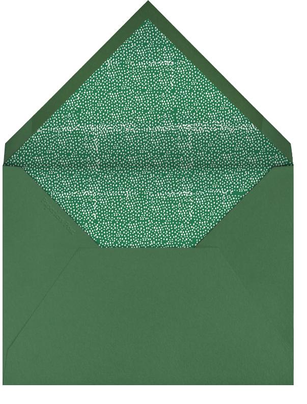 Lost in the Fern Bank - Mr. Boddington's Studio - Bridal shower - envelope back