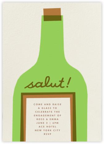 Wine Salut - Green - The Indigo Bunting - Wedding weekend