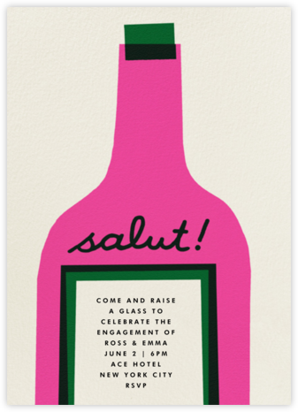 Wine Salut - Coral | tall