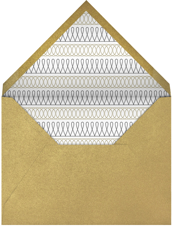 Ornate Fireworks - Paperless Post - New Year's Eve - envelope back
