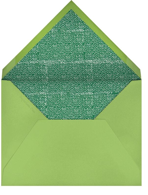 Luck of The Irish - Charterhouse - Mr. Boddington's Studio - St. Patrick's Day - envelope back