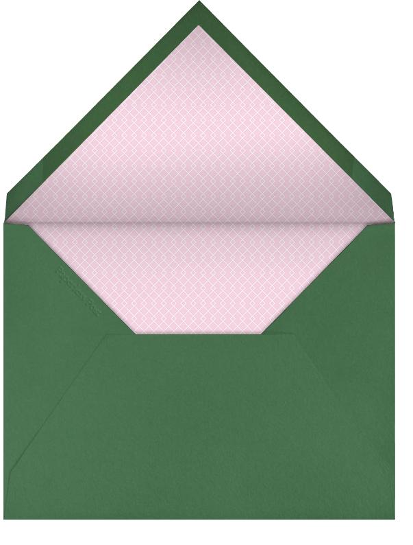 Tulips - Paperless Post - Spring entertaining - envelope back