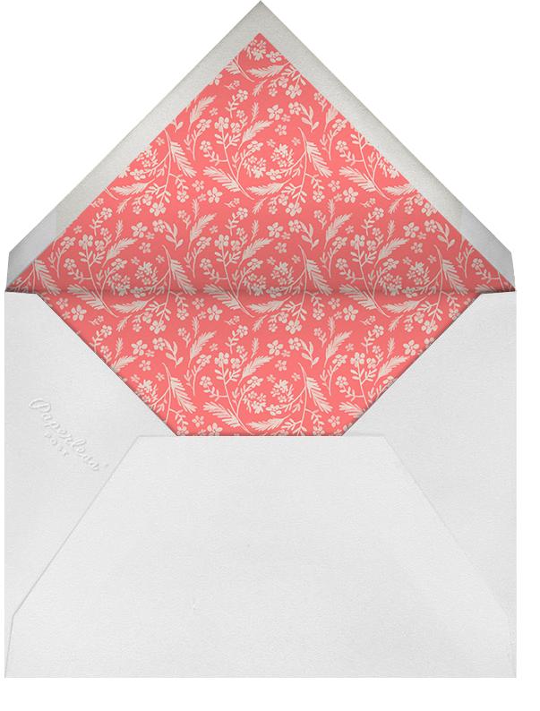 Chic Florette - Crate & Barrel - Party save the dates - envelope back