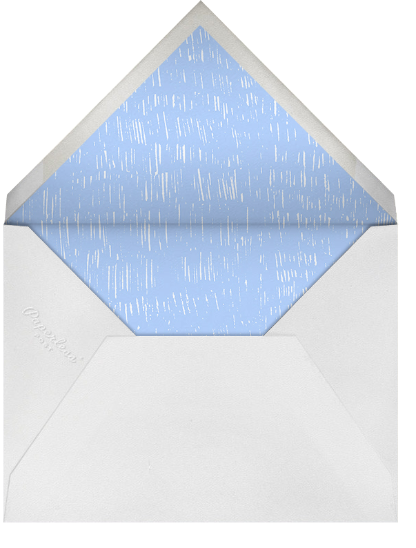 Place Setting - Light Blue and White - Paperless Post - Envelope
