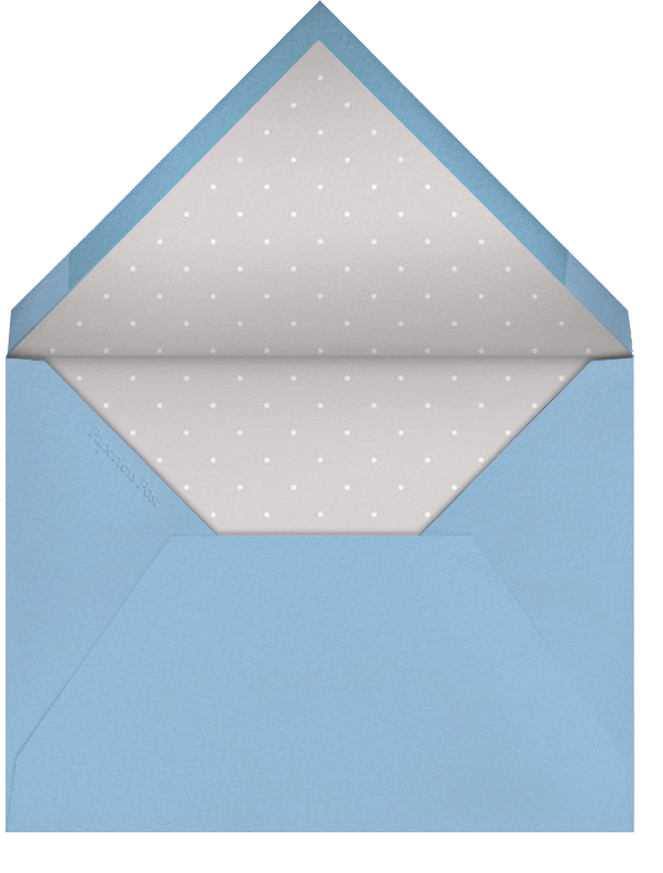 Front Porch - Ivory with Spring Rain - Paperless Post - Envelope