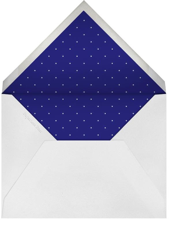 Ink Brush Arrows - Blue - Linda and Harriett - General entertaining - envelope back