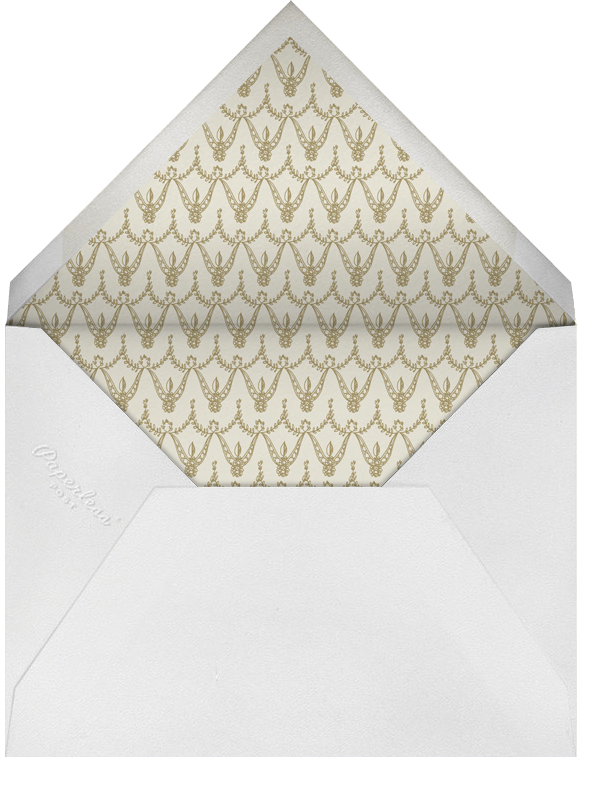 Dashwood Tall - Sepia - Paperless Post - Bar and bat mitzvah - envelope back