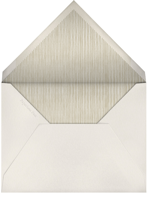 Sun Valley - Paperless Post - Baptism  - envelope back