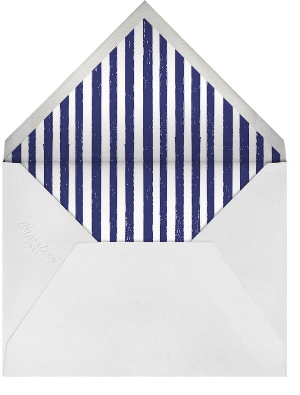 Good Morning, Brunch - Mr. Boddington's Studio - Wedding brunch - envelope back