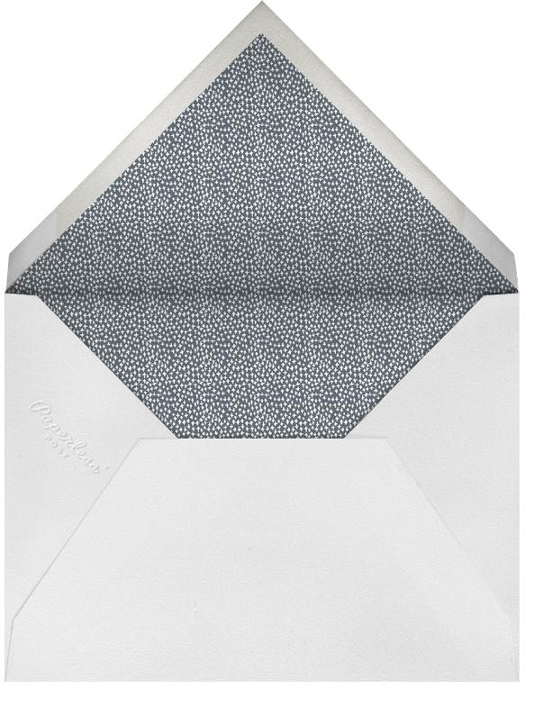 Laurel in Love - Gray - Mr. Boddington's Studio - Engagement party - envelope back