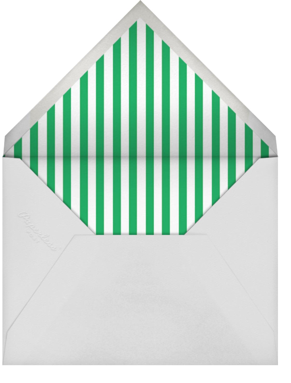 Pineapple Cake - Wisteria/Tan - Mr. Boddington's Studio - Kids' birthday - envelope back
