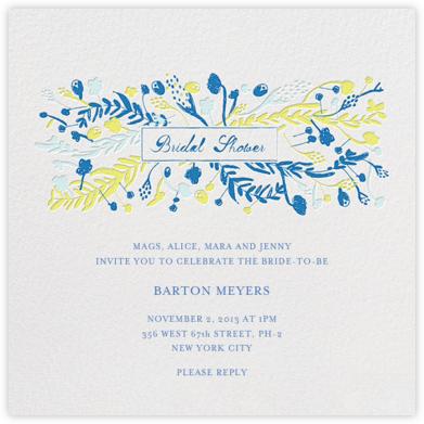 Roses for the Bridey - Summer - Mr. Boddington's Studio - Bridal shower invitations
