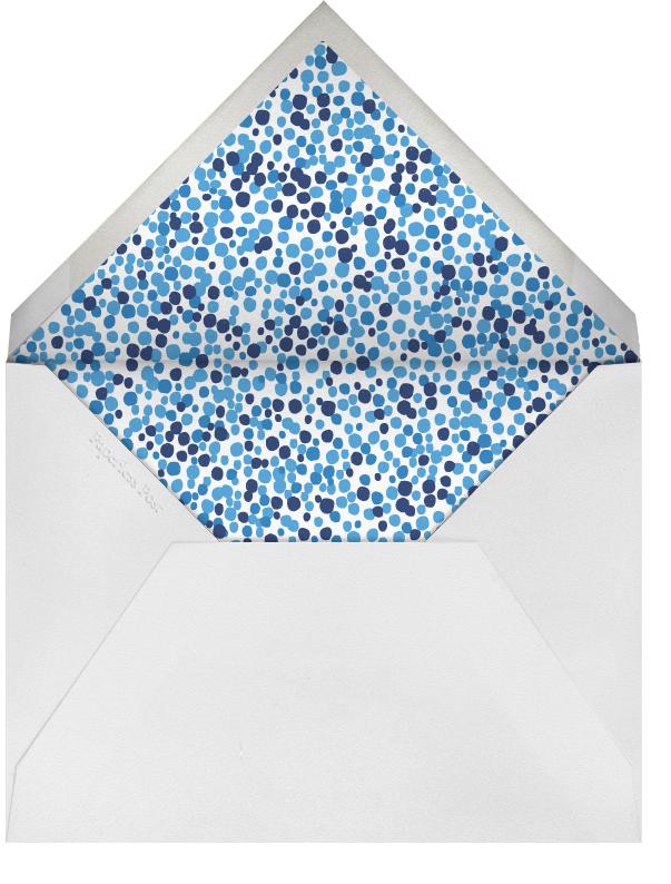 Zig Zag - Royal - Mr. Boddington's Studio - Adult birthday - envelope back
