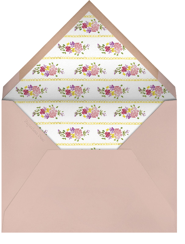 Rose Garland - Paperless Post - Mother's Day - envelope back