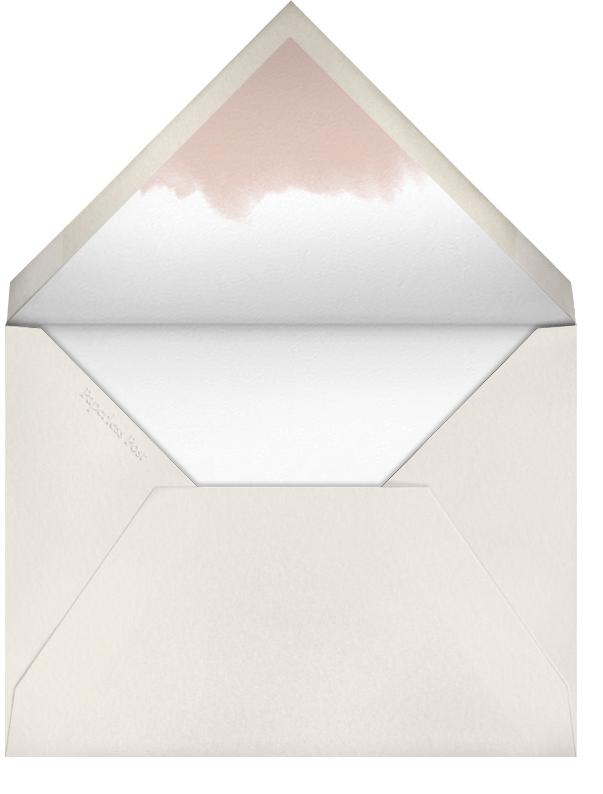 Rose Garland - Paperless Post - Spring entertaining - envelope back