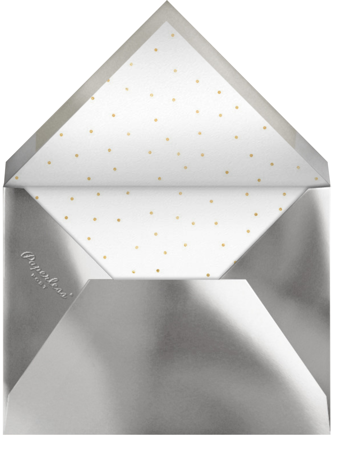 Fort Knox (Square) - Paperless Post - Holiday party - envelope back