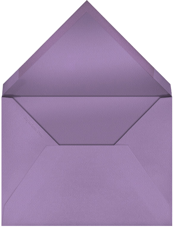 Octagon (Ivory) - Paperless Post - Birthday - envelope back