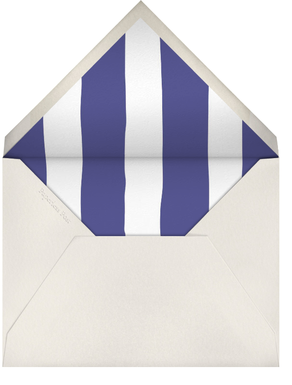 Beach Vignette - Cream - Paperless Post - Beach party - envelope back