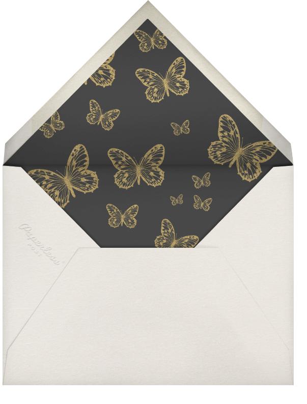 Butterfly - Gold - Bernard Maisner - General entertaining - envelope back