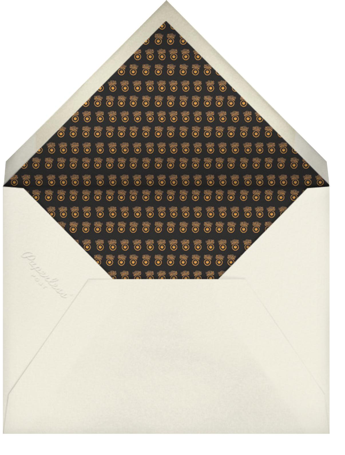 Congratulations - Bernard Maisner - Graduation - envelope back