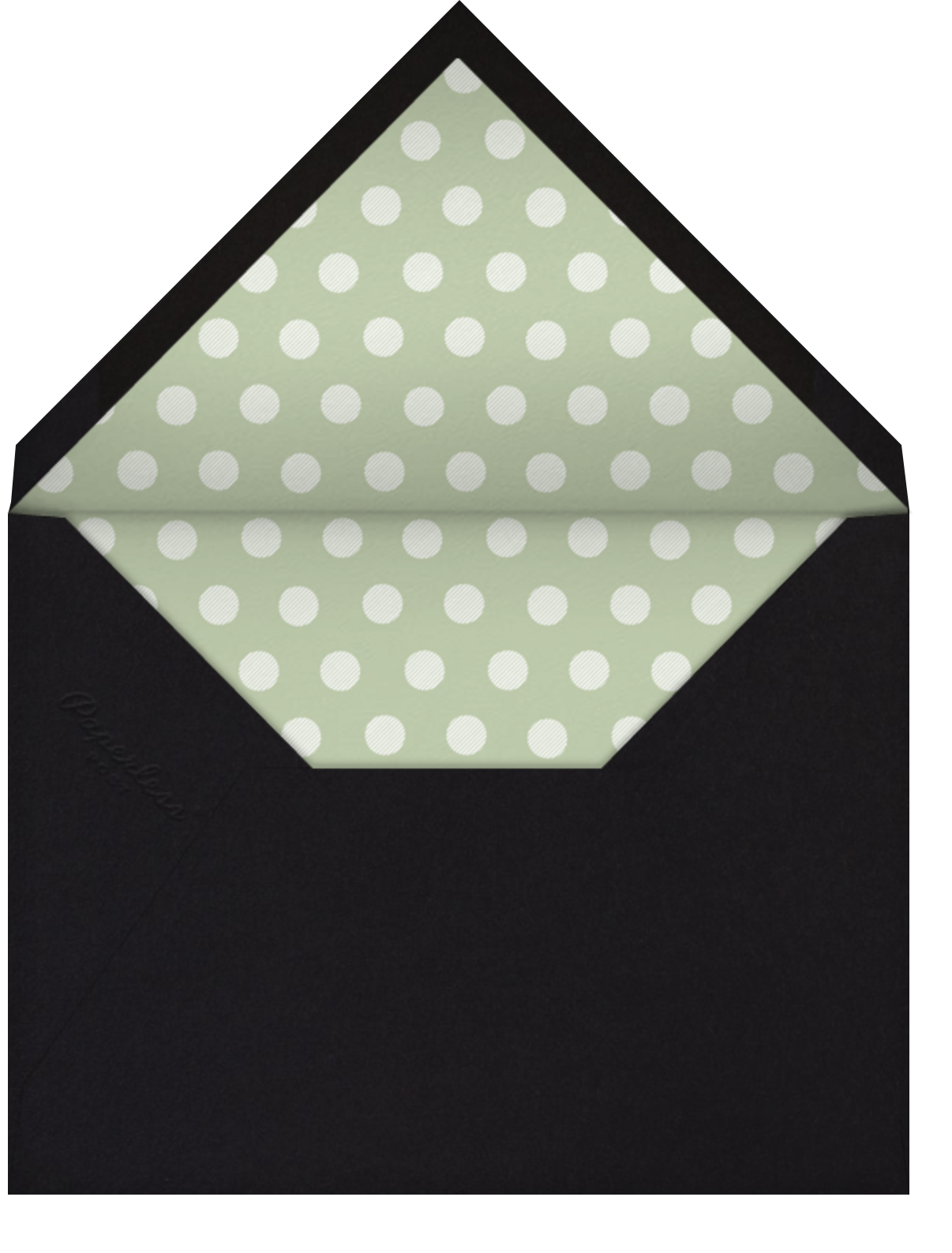 Corinthian (Large Square) - Paperless Post - All - envelope back