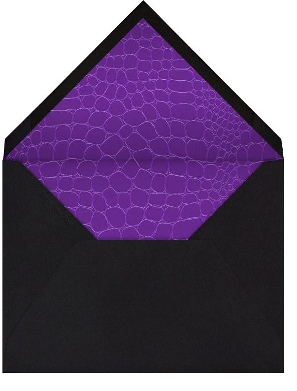 Croc Pump (Purple) - Paperless Post - Bachelorette party - envelope back