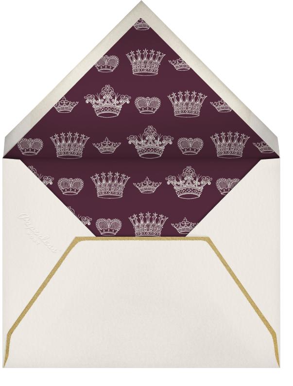 Crowns - Bernard Maisner - General entertaining - envelope back