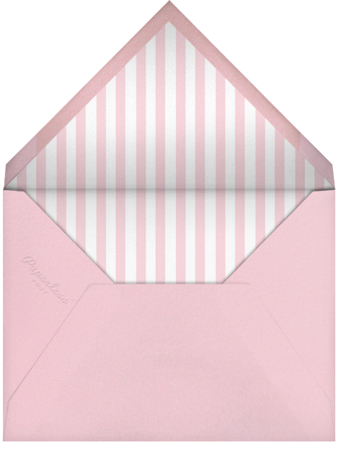 Diaper Pin (Pink) - Paperless Post - Baby and kids' - envelope back