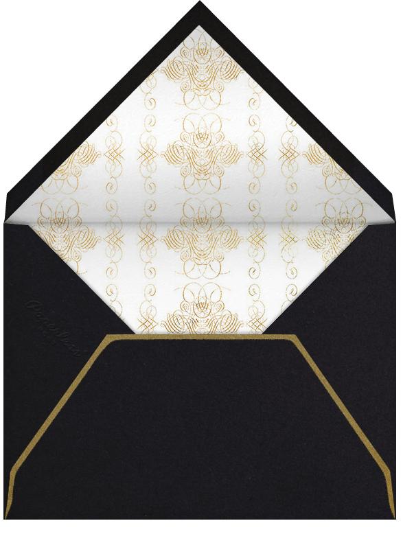Engagement - Ivory - Bernard Maisner - Engagement party - envelope back